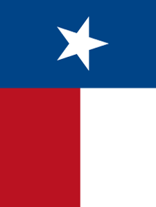 Texas Flag Template